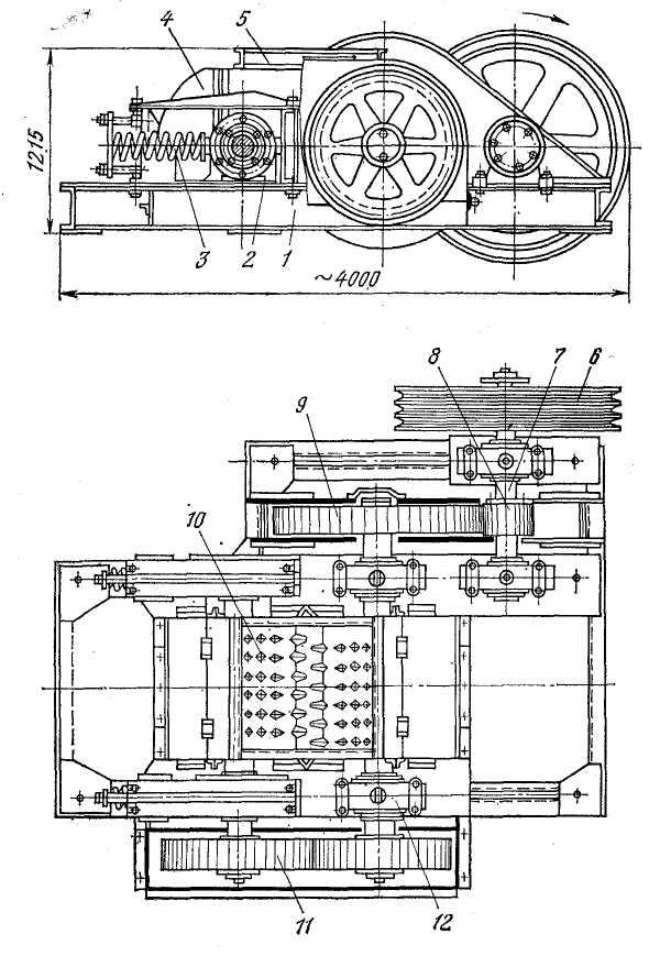 Валковая дробилка см-12 щековая дробилка расчет рабочих параметров