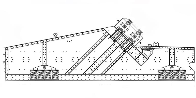 Схема грохота гист-72